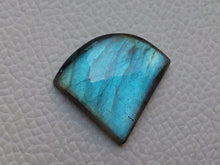 Load image into Gallery viewer, Blue Labradorite Cabochon  27x24x5mm Healing Gemstone Freeform Shape