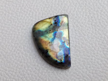 Load image into Gallery viewer, Labradorite Cabochon  30x21x6mm Healing Gemstone Freeform Shape