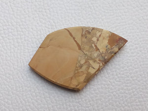 51x32x6 mm Landscape Jasper Freeform Shape
