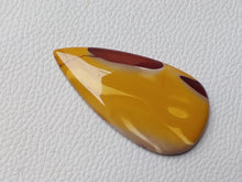 Load image into Gallery viewer, 58x30x6 mm Mookaite Teardrop Shape