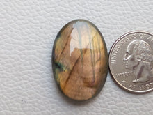 Load image into Gallery viewer, Labradorite Cabochon  32x22x7mm Healing Gemstone Oval Shape