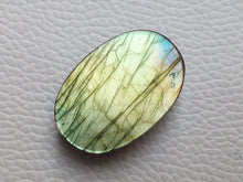 Load image into Gallery viewer, resplendent Multi Labradorite  30x21x8mm Healing Gemstone Oval Shape