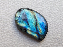 Load image into Gallery viewer, 29x20x6mm   Labradorite Gemstone Cabochon Freeform Shape