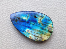 Load image into Gallery viewer, prepossessing Blue Labradorite Cabochon  43x27x8mm Healing Gemstone teardrop Shape