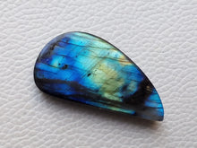 Load image into Gallery viewer, appealing Blue Labradorite Cabochon  42x21x8mm Healing Gemstone Freeform Shape