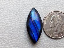 Load image into Gallery viewer, glamorous  Blue Labradorite Cabochon  30x14x8mm Healing Gemstone Marquise Shape