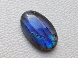 glorious Blue Labradorite Gemstone 30x18x8mm Healing Gemstone Oval Shape