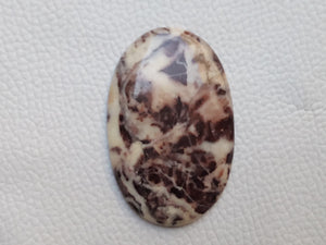 49x31x4 mm Coconut Jasper Oval Shape