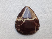 Load image into Gallery viewer, 39x33x5 mm Coconut Jasper Teardrop Shape