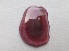 Load image into Gallery viewer, 53x40x6 mm Geode Agate Slice Dyed Freeform Shape