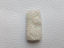 Load image into Gallery viewer, 26x13x6 mm Rainbow Titanium Druzy rectangular Shape