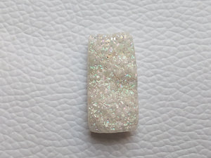 26x13x6 mm Rainbow Titanium Druzy rectangular Shape