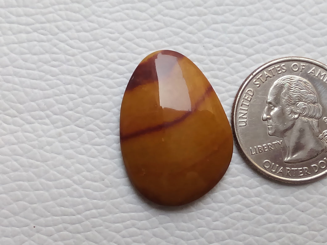 29x21x5 mm Mookaite Freeform Shape