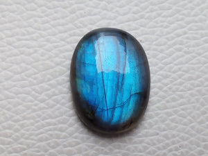 25x19x7mm   Labradorite Gemstone Cabochon Oval Shape