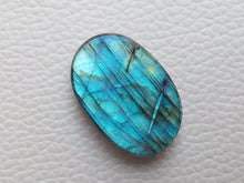 Load image into Gallery viewer, 28x19x7mm   Labradorite Gemstone Cabochon Oval Shape