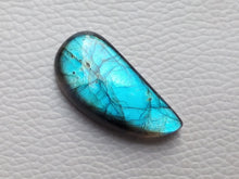 Load image into Gallery viewer, 33x16x7mm   Labradorite Gemstone Cabochon Freeform Shape