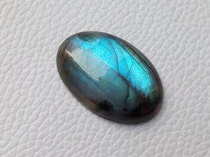 29x20x7mm   Labradorite Gemstone Cabochon Oval Shape