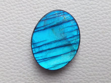Load image into Gallery viewer, 31x24x8mm   Labradorite Gemstone Cabochon Oval Shape