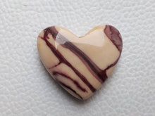 Load image into Gallery viewer, 29x25x9 mm Mookaite Jasper Briolette Heart Shape