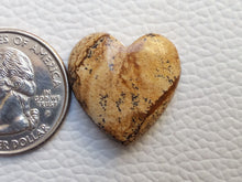 Load image into Gallery viewer, 22x22x7 mm Picture Jasper Heart Shape