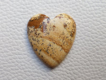 Load image into Gallery viewer, 27x24x5 mm Picture Jasper Heart Shape