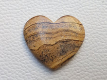 Load image into Gallery viewer, 32x29x6 mm Picture Jasper Heart Shape