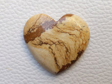 Load image into Gallery viewer, 30x27x6 mm Picture Jasper Heart Shape