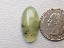 Load image into Gallery viewer, 26x13x7 mm Prehnite Oval Shape