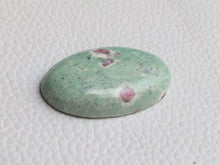 Load image into Gallery viewer, 32x29x6 mm Ruby Fuchsite Oval Shape