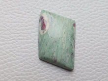 Load image into Gallery viewer, 34x25x6 mm Ruby Fuchsite freeform Shape