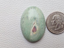 Load image into Gallery viewer, 38x27x7 mm Ruby Fuchsite Oval Shape