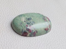 Load image into Gallery viewer, 37x26x8 mm Ruby Fuchsite Oval Shape
