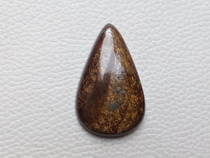 38x23x7 mm Bronzite Teardrop Shape