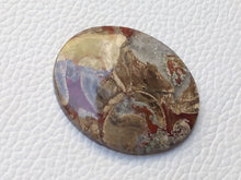Load image into Gallery viewer, 37x31x5 mm Crazy Lace Agate Oval Shape