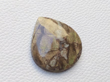 Load image into Gallery viewer, 37x33x6 mm Crazy Lace Agate Teardrop Shape