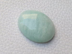 25x19x6 mm Amazonite Oval Shape