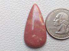 Load image into Gallery viewer, 34x17x5 mm Natural Thulite Teardrop Shape