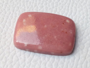24x17x5 mm Natural Thulite Rectangular Shape