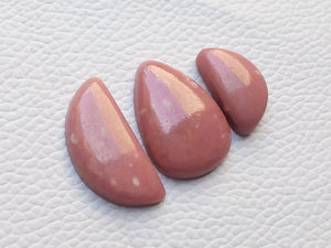 3 Pcs Natural Thulite Mix Shape