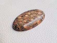 Load image into Gallery viewer, 40x24x6 mm Natural Leopard Skin Jasper Oval Shape