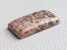 Load image into Gallery viewer, 31x17x6 mm Natural Leopard Skin Jasper Rectangular Shape