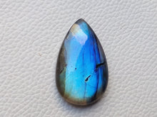 Load image into Gallery viewer, 36x22x7mm   Labradorite Gemstone Cabochon teardrop Shape