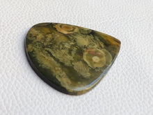 Load image into Gallery viewer, 46x45x4 mm Fruit Jasper Teardrop Shape