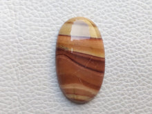 Load image into Gallery viewer, 33x19x6 mm Natural Wave Dolomite Oval Shape