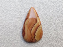 Load image into Gallery viewer, 46x27x6 mm Natural Wave Dolomite Teardrop Shape