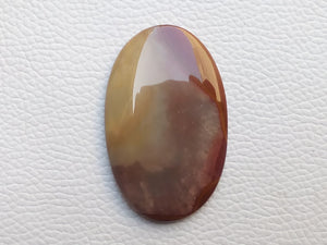 50x31x5 mm Natural Polychrome Jasper Oval Shape
