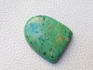 30x26x6 mm Natural Chrysocolla freeform Shape