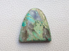 Load image into Gallery viewer, 31x30x7 mm Natural Chrysocolla freeform Shape