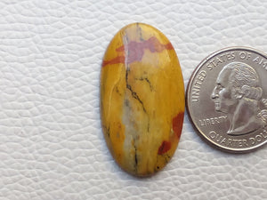 35x19x5 mm Rainbow Jasper Oval Shape