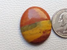 Load image into Gallery viewer, 30x25x6 mm Rainbow Jasper Oval Shape